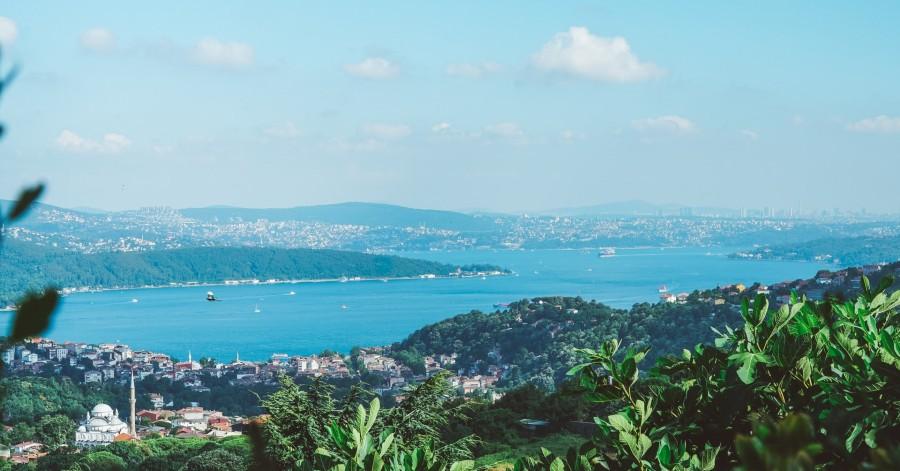 havet runt hörnet i Istanbul